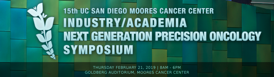 2019 Symposium - UC San Diego Moores Cancer Center Industry